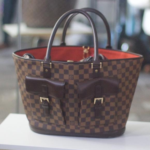 905e5da273 Louis Vuitton Bags | Damier Ebene Canvas Manosque Damier | Poshmark